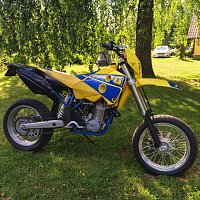 Parting out - 2004 FE450 w/ supermoto wheels-img_2818.jpg
