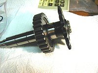 gear shaft end float-stack-assembled-custom-stop-disc-perfect-clearance-retaining-ring.jpg
