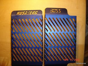 Alloy Radiator Guards by Boss