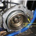 Kokusan ignition retrofitted to a Husaberg motorcycle