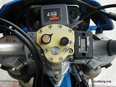 Sendec Tach/Hour Meter Mounted