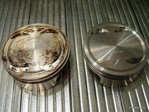 Wössner vs 2004 650ccm stock piston